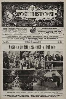 Nowości Illustrowane. 1917, nr34  PDF 