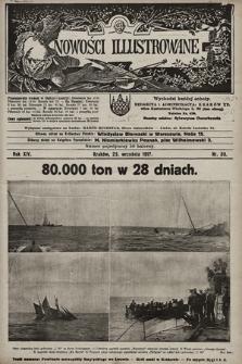 Nowości Illustrowane. 1917, nr39 |PDF|