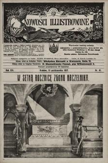 Nowości Illustrowane. 1917, nr41 |PDF|