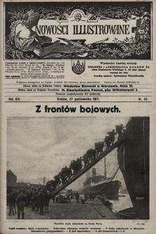 Nowości Illustrowane. 1917, nr43 |PDF|