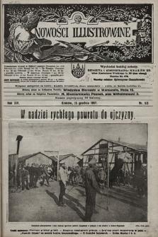 Nowości Illustrowane. 1917, nr50 |PDF|