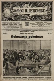Nowości Illustrowane. 1918, nr38 |PDF|