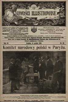Nowości Illustrowane. 1918, nr49 |PDF|