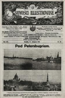 Nowości Illustrowane. 1919, nr46  PDF 