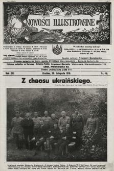 Nowości Illustrowane. 1919, nr48 |PDF|