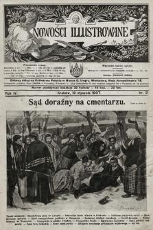 Nowości Illustrowane. 1907, nr3 |PDF|