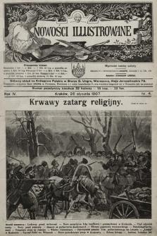 Nowości Illustrowane. 1907, nr4 |PDF|