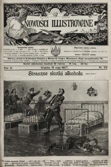 Nowości Illustrowane. 1907, nr20 |PDF|
