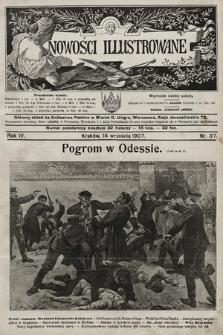 Nowości Illustrowane. 1907, nr37 |PDF|