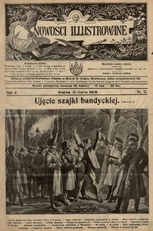 Nowości Illustrowane. 1908, nr12 |PDF|