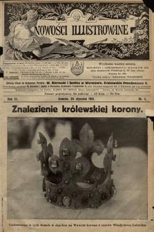 Nowości Illustrowane. 1914, nr4 |PDF|
