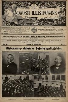 Nowości Illustrowane. 1914, nr8 |PDF|