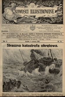 Nowości Illustrowane. 1914, nr23 |PDF|