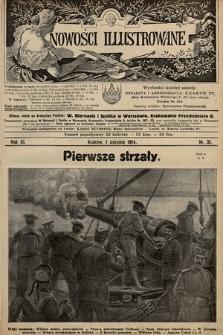 Nowości Illustrowane. 1914, nr31 |PDF|