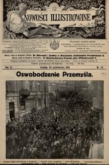 Nowości Illustrowane. 1914, nr43 |PDF|