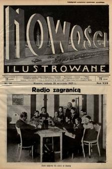 Nowości Ilustrowane. 1925, nr39 |PDF|