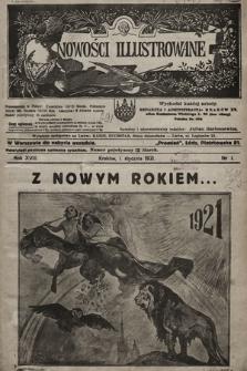 Nowości Illustrowane. 1921, nr1 |PDF|