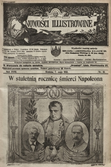 Nowości Illustrowane. 1921, nr19 |PDF|