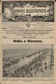 Nowości Illustrowane. 1915, nr3 |PDF|