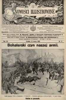 Nowości Illustrowane. 1915, nr11 |PDF|