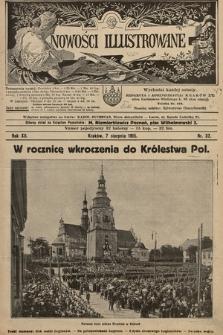Nowości Illustrowane. 1915, nr32 |PDF|