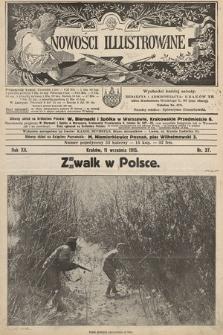 Nowości Illustrowane. 1915, nr37 |PDF|