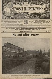 Nowości Illustrowane. 1915, nr45  PDF 