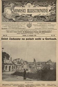 Nowości Illustrowane. 1915, nr46 |PDF|