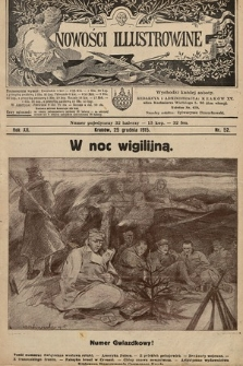 Nowości Illustrowane. 1915, nr52  PDF 