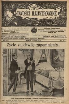 Nowości Illustrowane. 1922, nr21 |PDF|