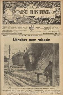 Nowości Illustrowane. 1922, nr39  PDF 