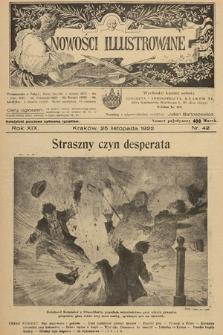 Nowości Illustrowane. 1922, nr42 |PDF|