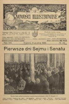 Nowości Illustrowane. 1922, nr44  PDF 