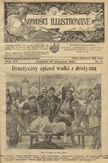 Nowości Illustrowane. 1923, nr4  PDF 