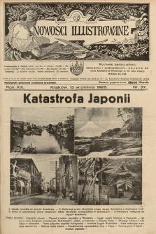 Nowości Illustrowane. 1923, nr37 |PDF|