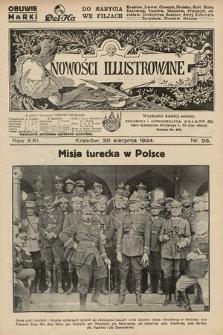 Nowości Illustrowane. 1924, nr35  PDF 