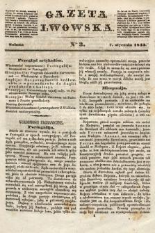 Gazeta Lwowska. 1843, nr 3