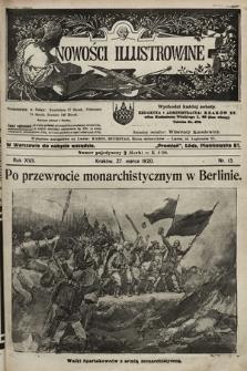 Nowości Illustrowane. 1920, nr13 |PDF|