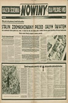 Nowiny : gazeta ścienna dla polskiej wsi. 1943, nr60 |PDF|