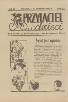 """Przyjaciel Dzieci : dodatek do """"Robotnika"""".R.6, nr 14 (11 października 1931)"""