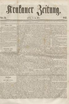 Krakauer Zeitung.[Jg.1], Nro. 53 (6 März 1857)