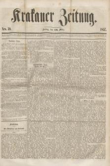 Krakauer Zeitung.[Jg.1], Nro. 59 (13 März 1857)