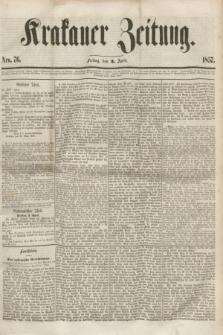 Krakauer Zeitung.[Jg.1], Nro. 76 (3 April 1857) + dod.