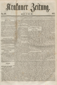Krakauer Zeitung.[Jg.1], Nro. 119 (27 Mai 1857)