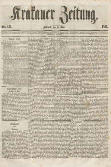 Krakauer Zeitung.[Jg.1], Nro. 124 (3 Juni 1857)