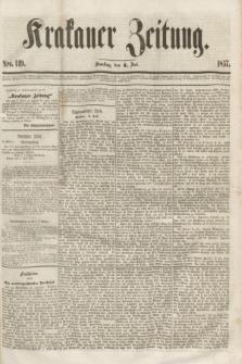 Krakauer Zeitung.[Jg.1], Nro. 149 (4 Juli 1857) + dod.