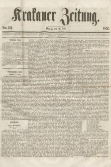 Krakauer Zeitung.[Jg.1], Nro. 151 (7 Juli 1857) + dod.