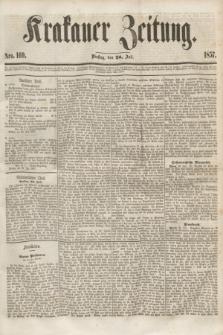 Krakauer Zeitung.[Jg.1], Nro. 169 (28 Juli 1857)