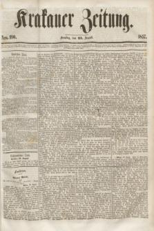 Krakauer Zeitung.[Jg.1], Nro. 190 (22 August 1857)