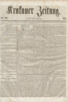 Krakauer Zeitung.[Jg.1], Nro. 201 (4 September 1857)